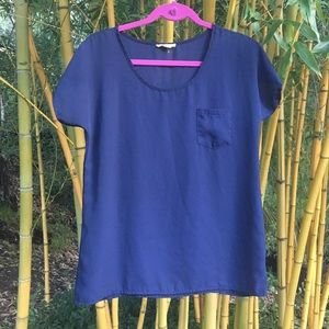 Zenana Outfitters :: Navy Tee
